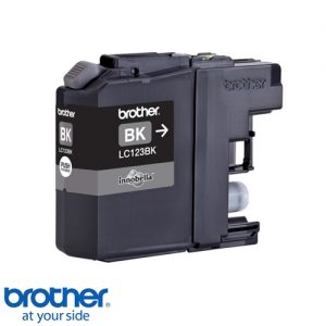 מחסנית דיו תואם brother lc123 xl bk שחור (121)