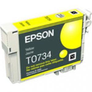 ראש דיו תואם EPSON T0-734 צהוב