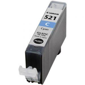 דיו תואם CANON CLI-521C כחול