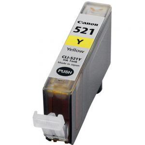 דיו תואם CANON CLI-521Y צהוב