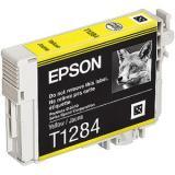 ראש דיו תואם EPSON T0-1284 צהוב