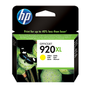 דיו מקורי HP 920XL CD974AE  צהוב