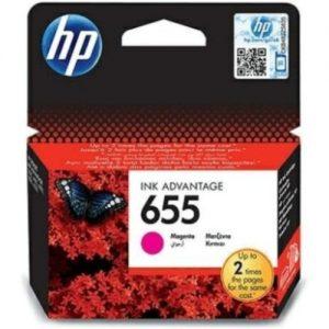 ראש דיו מקורי HP 655 CZ111AE אדום