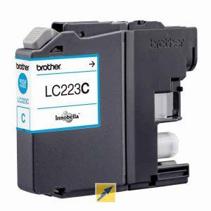 מחסנית דיו BROTHER תואם LC223XL C כחול (221)