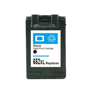 דיו תואם שחור HP 652 XXL F6V25AE כמות כפולה