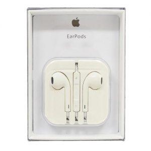 אוזניות APPLE מקוריות לאייפון 5\6