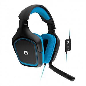 אוזניות גיימרים Logitech G430 7.1