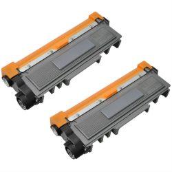זוג טונרים תואמים Brother TN2220 כל טונר עד 2,600 הדפסות בכיסוי 5% מהדף