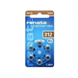 סוללות למכשירי שמיעה ZA 312 RENATA